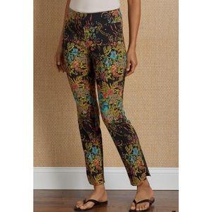 Soft Surroundings In Bloom Ankle Pants Medium